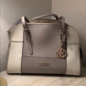 GUESS gray bowler bag